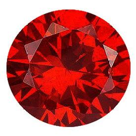 【2個】カラーダイヤモンド 【ラウンドカット】 ルース レッドコニャック 1.5mm 天然石 アクセサリー diac-rdc-15