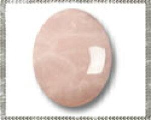 ローズクォーツ 【オーバルカボション】 約4x6mm ルース 1個 裸石 天然石