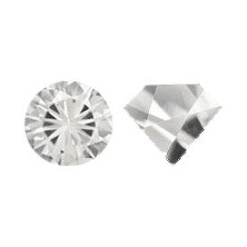 クォーツ(水晶) 【ラウンドカット】 約5mm ルース 《1個》 裸石 天然石