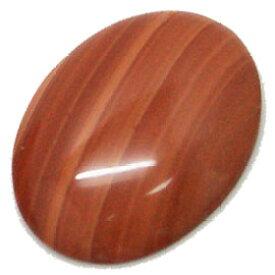 レッドマラカイト 【オーバルカボッション】 大きめBIGルース 約40x30mm 《1個》 裸石