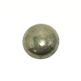 パイライト 【ラウンドカボション】 約14mm ルース 1個 裸石 天然石