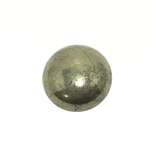パイライト 【ラウンドカボション】 約6mm ルース 1個 裸石 天然石