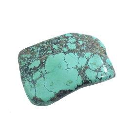 ターコイズ 【スライスパーツ】 トルコ石 約61x41.2x14.3mm 69g 《1個》 天然石 パーツ
