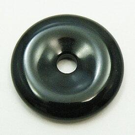 オニキス 【ピーディスク】 40mm ムナイキ 《1枚》 ドーナツ Pディスク 天然石