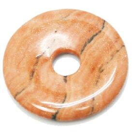 ピクチャージャスパー 【ピーディスク】 30mm ムナイキ 《1枚》 ドーナツ Pディスク 天然石