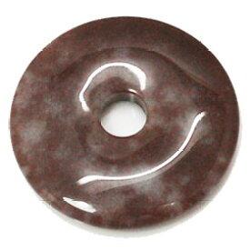 ブラウンアベンチュリン 【ピーディスク】 40mm ムナイキ 《1枚》 ドーナツ Pディスク 天然石