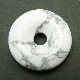 ハウライト 【ピーディスク】 40mm ムナイキ 《1枚》 ドーナツ Pディスク 天然石