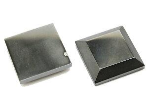 ヘマタイト 【天然石チャーム】 四角型パーツ いろいろなパーツ 約25x25x6mm 《1個》