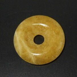 アラゴナイト 【ピーディスク】 40mm ムナイキ 《1枚》 ドーナツ Pディスク 天然石