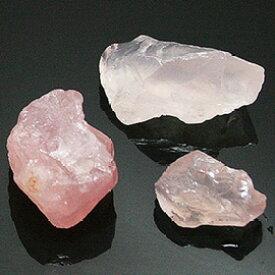 ローズクォーツ 原石 300g 【量り売り】 天然石 ro-g-rq