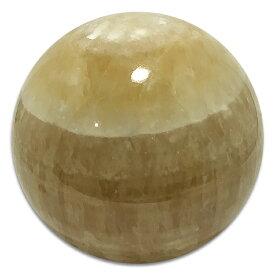 カルサイト 丸玉 約115mm /スピリチュアルインテリア パワーストーン 磨き石 一点もの