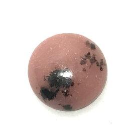 ロードナイト 【ラウンドカボション】 ルース 14mm 1点もの 天然石 裸石