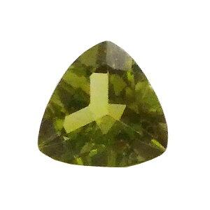 ペリドット 【トリリアントカット 1点もの】 6.8x3.7mm1.2ct / 天然石 パワーストーン