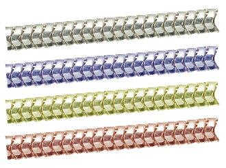 銀子鏈子蛇鏈子成品(項鏈)尺寸(寬度大約:0.8mm長度:40cm)1部銀子925綠心碱彩色表面塗層