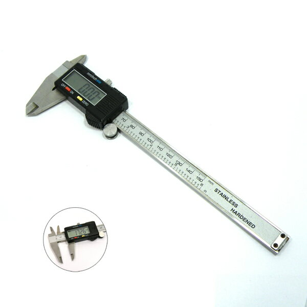 【デジタルスケール】 エレクトロニック ノギス 150mm 《1個》 計測
