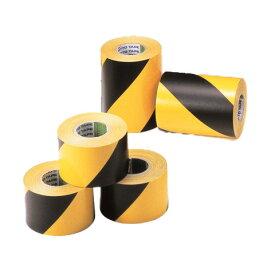 日東電工 Nitto ニットー トラテープIII型 幅45mm × 10m | 45mm トラテープ 危険表示 立入禁止 工事現場 工事