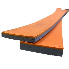 シーリング用 仕上げバッカー 900mm ゴム + スポンジタイプ | オレンジ×青 / オレンジ×白 / オレンジ×グレー