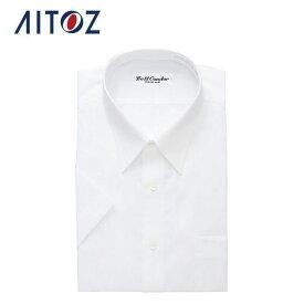 AZ-43030 アイトス 半袖カッターシャツ(6040) | 作業着 作業服 オフィス ユニフォーム メンズ レディース