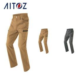 AZ-64121 アイトス カーゴパンツ(ノータック)(男女兼用)   作業着 作業服 オフィス ユニフォーム メンズ レディース