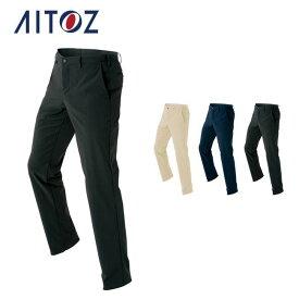 AZ-7852 アイトス ストレッチパンツ(ノータック)(男女兼用)   作業着 作業服 オフィス ユニフォーム メンズ レディース