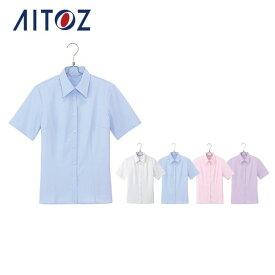 AZ-HCB2710 アイトス 半袖ブラウス   作業着 作業服 オフィス ユニフォーム メンズ レディース