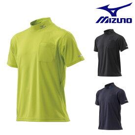 ミズノ mizuno ハイドロ銀チタン ワークシャツ 半袖 C2JA8184 | ワーク 作業 現場 着