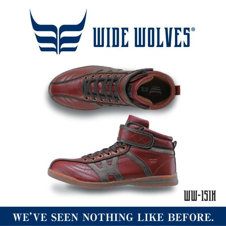 【新商品】ワイドウルブス・ハイカット安全靴WIDE WOLVES ww-151H