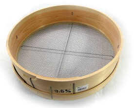 木製丸とうし (木枠フルイ)(ふるい)(トウシ)