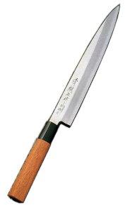 52022 清綱上作 ステンレス製 刺身包丁 240mm ハイカーボンステンレス鋼複合鍛造 柄はブビンガー