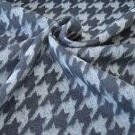 【日本製】ループカットシャギージャガード千鳥