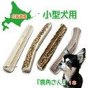 【小型犬用 蝦夷鹿の角】 犬のおもちゃ 『鹿角さん』 髄出し四つ割りタイプ 1本 サイズ(長さ10〜12cm:太さ1〜2cm) …