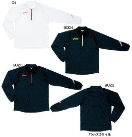asics2011/12 プラシャツシャツジップ LS