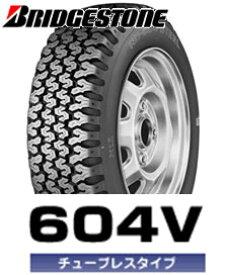 【限定品2019年製】ブリヂストン オールシーズンタイヤ604V 145R12 6PR M+S4本セット