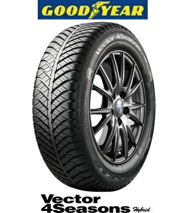 グッドイヤー Vector 4Seasons Hybrid165/55R14オールシーズンタイヤ