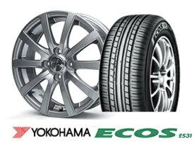ZACK JP110 14インチ&ヨコハマ ECOS ES31 155/65R14 4本SET
