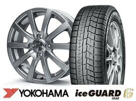 【タンク・ルーミーにおすすめ】ヨコハマ ice GUARD 6 iG60  165/65R14ZACK JP110 14インチSET