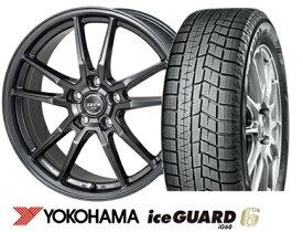 ヨコハマ ice GUARD 6 iG60 195/65R15ZACK JP520 15インチSET