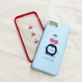 Cherry iPhone6/6s/7/8/SE2ケース サンキューマート