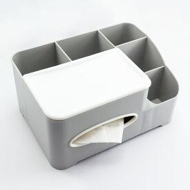 ティッシュボックス付き収納ケース サンキューマート ネコポス不可