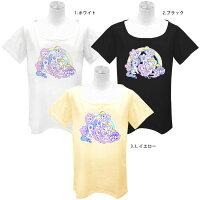 メール便OK1通180円マイリトルポニーコラボプリントTシャツアニメ虹サンキューマート//10