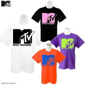 ネコポスOK1通280円 MTV MUSIC TELEVISION コラボ プリントTシャツ サンキューマート//10