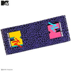 ネコポスOK1通280円 MTV MUSIC TELEVISION コラボ フェイスタオル サンキューマート//10