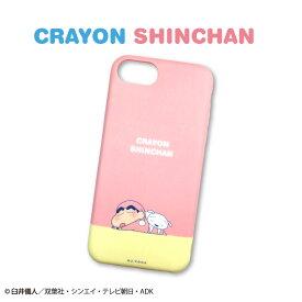 クレヨンしんちゃん コラボ iPhone6/6s/7/8/SE2対応ケース SLEEPING SERIES サンキューマート