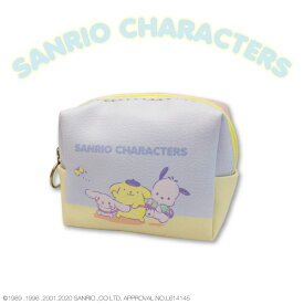 サンリオキャラクターズ コラボ ミニ箱型ポーチ ちょうちょ サンキューマート
