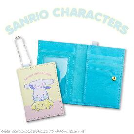 サンリオキャラクターズ コラボ 二つ折りパスケース のんびり サンキューマート