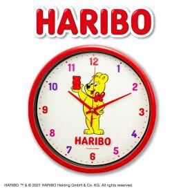 ハリボー コラボ 壁掛け時計 サンキューマート ネコポス不可