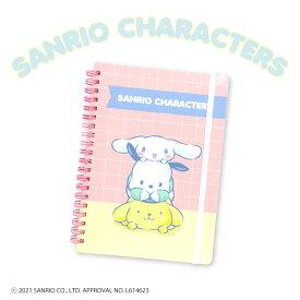 サンリオキャラクターズ コラボ B6リングノート さんにん サンキューマート