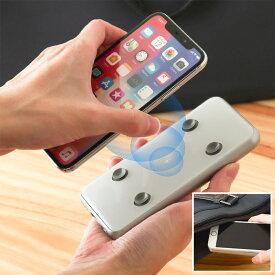 [公式]ワイヤレス充電モバイルバッテリー「ピタッQiバッテリー」 PBWCSC05 無線充電 USB スマホ スマートフォン microUSB ワイヤレス