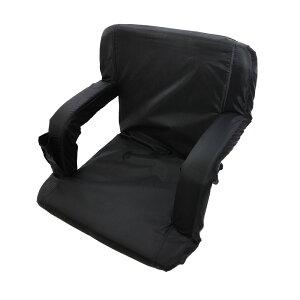 背負える座椅子「どこでも座イス」SHDFDCHR背負うチェアアウトドアピクニック釣り星空観察花火鑑賞川辺背もたれクッション