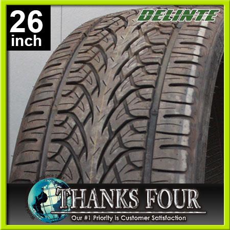 【在庫処分品】DELINTE TIRE D8 DESERTSTORMデリンテ タイヤ デザートストーム 1本価格255/30R26DEL800813【サンクスフォー】